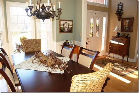 Dining Room Colors oyster bay dining room next to beige family room