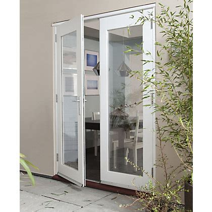 Homebase Patio Doors Wellington White Pre Finished Doorset 1500mm Wide