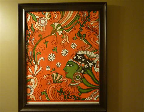 painting a mural on a wall with acrylic paint kerala mural painting tutorial for the non painter