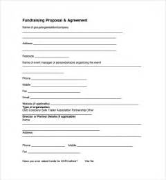 sample fundraising proposal template 7 free documents