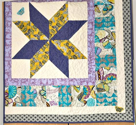 Patchwork Cot Quilt - quilt baby cot quilt yellow turquiose purple patchwork