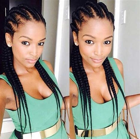 small lines straight up plaiting images 31 best ghana braids hairstyles stayglam