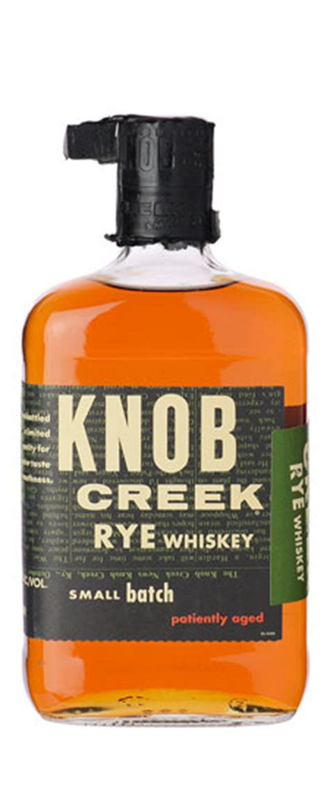 knob creek rye whiskey 750ml sku