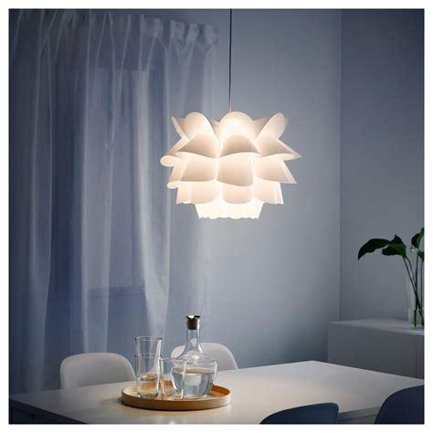ikea white chandelier knappa pendant l white ikea