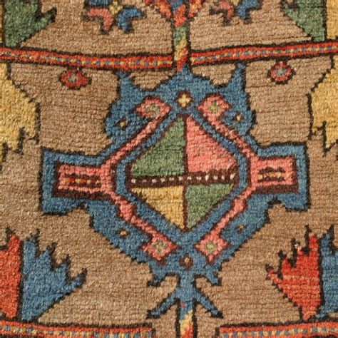 Rug Pattern Types by Bijar Rug With Baluch Type Tree Design