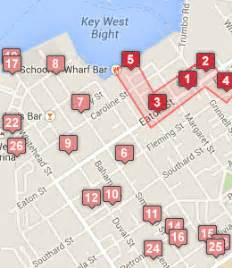 map of key west florida hotels key west hotels near historic seaport boardwalk key west fl