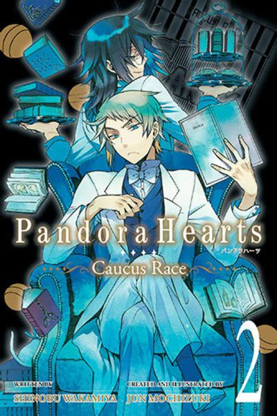 Pandora Hearts Volume 2 pandora hearts caucus race novel volume 2