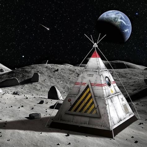 Fantasy Bedrooms Space Capsule Tent