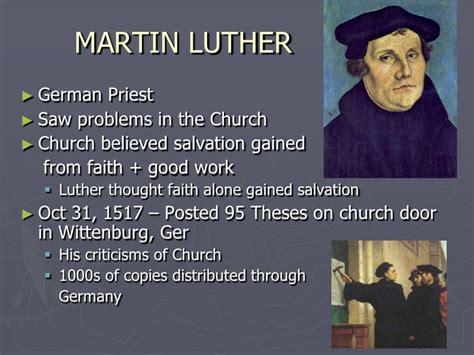 Martin Luther Powerpoint Renaissance Reformation Powerpoint