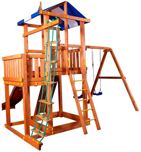 swing set kit brittany playset swing set kit with wood included