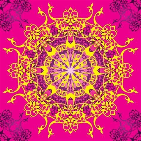 arabic poster design vector arabic design pattern vector free download