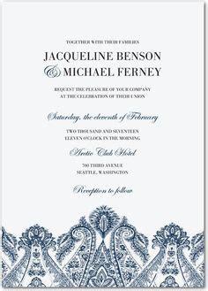 Pottery Barn Wedding Invitations