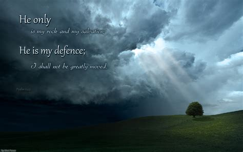 religious wallpaper for mac psalm 62 2 wallpaper christian wallpapers and backgrounds