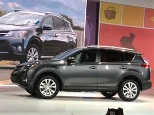 2013 Toyota Rav4 V6 La Auto Show Redesigned 2013 Toyota Rav4 Looses V6 Power