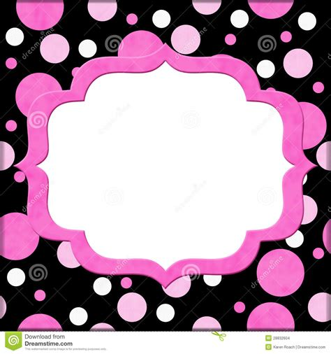 pink polka dot with frame background labs black polka dot wallpaper wallpapersafari