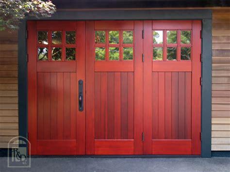 garage man doors bifolding outswing garage doors unique reddoors http
