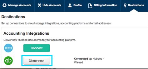 reset quickbooks online reset quickbooks online connection in hubdoc hubdoc helpdesk