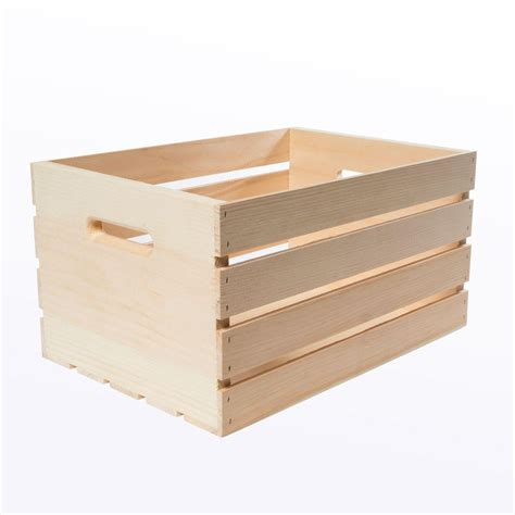 Home Depot Small Box Dimensions Crates Pallet 18 In X 12 5 In X 9 5 In Large Wood