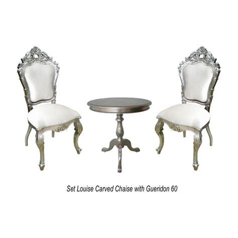 location de chaise mariage location de chaise de mariage couleur argent et blanc avec gu 233 ridon