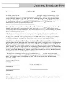 Unsecured Note Template by Best Photos Of Print Copy Of Promissory Note Free Blank