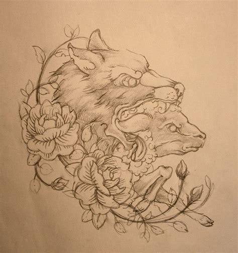 tattoo design hoodies quot sheep in wolf s clothing quot sketch clothing sketches