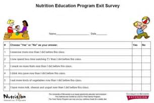 Program Evaluation Survey Template by Creating A Minnesota Statewide Snap Ed Program Evaluation
