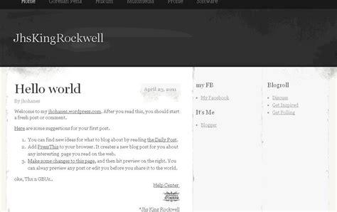 blogger dan wordpress mengubah tilan theme wordpress dan blogger jhs king