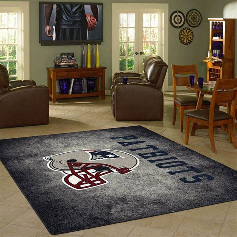 cave rugs new patriots rug team distressed fan cave rugs