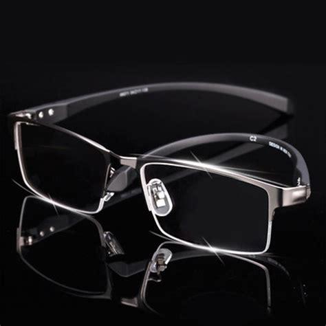 new mens alloy eyeglass frames men titanium alloy eyeglasses frame for men eyewear