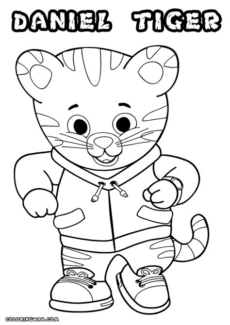 daniel tiger coloring pages daniel tiger coloring page 13 coloring pages for