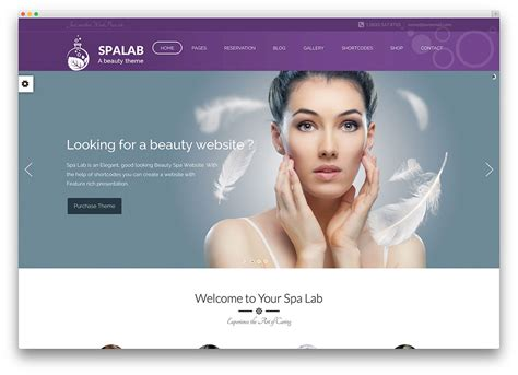 wordpress themes free nails 20 beautiful spa beauty salon wordpress themes 2017