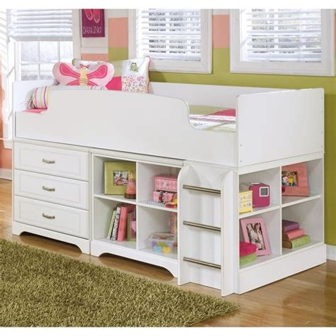 Lulu Bunk Bed Lulu Wood Loft Bed In White B102 17 68t Kit