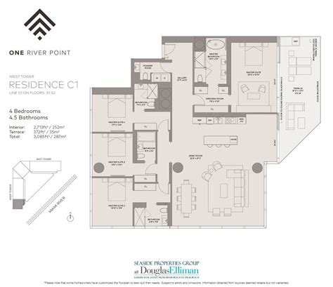 Las Olas Grand Floor Plans by 100 Las Olas By The River Floor Plans Intown Luxury