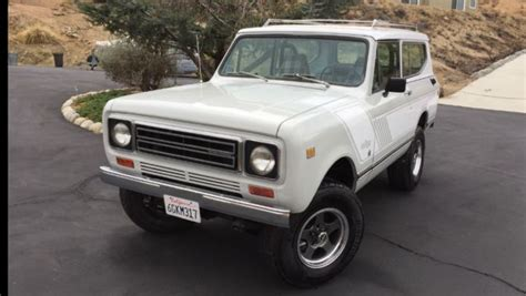 bronco jeep international scout ii 4x4 suv bronco jeep