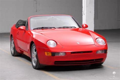 best auto repair manual 1993 porsche 968 seat position control 1993 porsche 968 cabriolet 26 762 miles collection car
