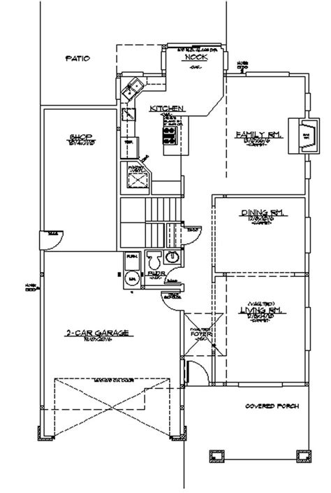 the gunter ridge 1603 3 bedrooms and 2 5 baths the bungalow house plans home design m 2438 2712