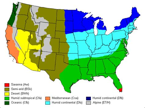 america map temperature holapicasso 4 the climates in the usa