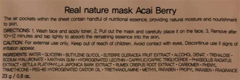 The Saem Acaiberry Mask Sheet Masker the shop acai berry real nature mask review