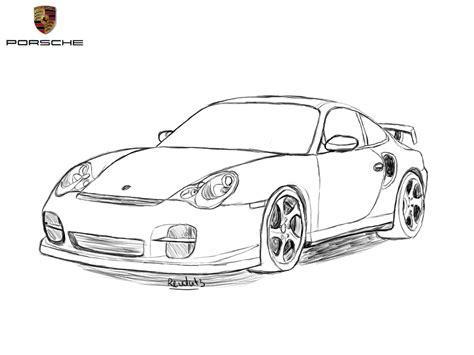 porsche drawing porsche 911 drawing by revolut3 on deviantart