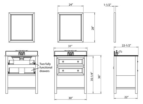standard height of a bathroom vanity book of bathroom vanities dimensions in australia by
