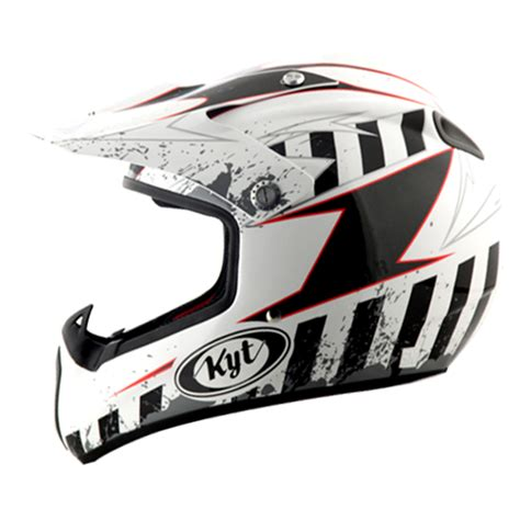 Kyt Cross Drift Helm White Bumble Bee daftar harga helm kyt cross terbaru