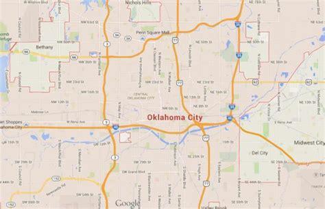 map usa oklahoma city oklahoma city world easy guides