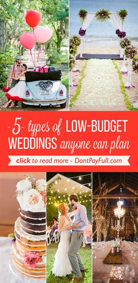 Best 25  Low budget wedding ideas on Pinterest   Low cost