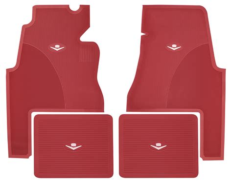 Cadillac Floor Mats by 1959 60 Cadillac Floor Mats Original Style Rubber 2 Door
