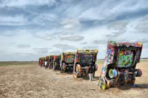 Cadillac Ranch Route 66 Cadillac Ranch On Historic Route 66