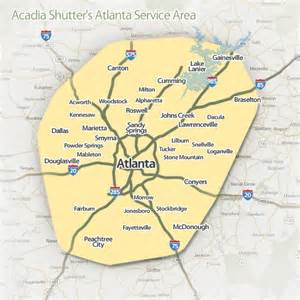 atlanta area map atlanta metro area map afputra
