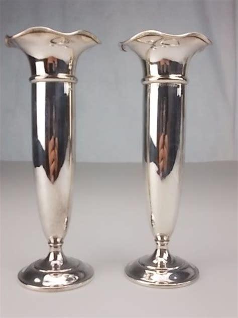 vasi in argento coppia di antichi vasi in argento inglese d en s