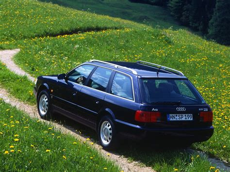 Exterior Home Design Gallery by Audi A6 Avant C4 1994 1995 1996 1997 Autoevolution