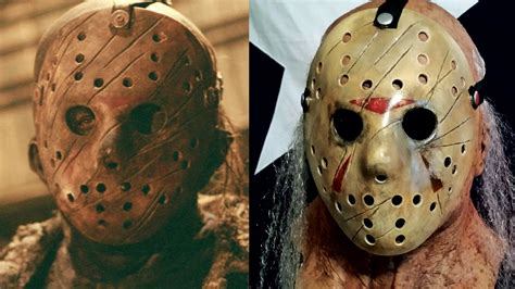 How To Make A Jason Mask Out Of Paper - a freddy vs jason hockey mask friday the 13th diy