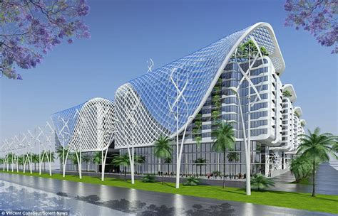 wind architecture the ultimate eco building architect designs futuristic